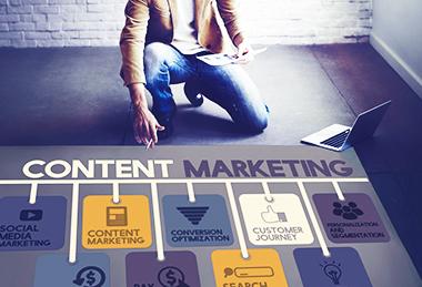 Content marketing communication digitale